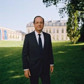 Pr�sident de la R�publique, Fran�ois Hollande, photo officielle